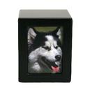 Houten-urn