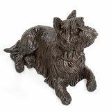 Prachtige verbronsde urn west highland white terrier_