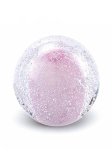 Stardust Line Bulb transparant roze
