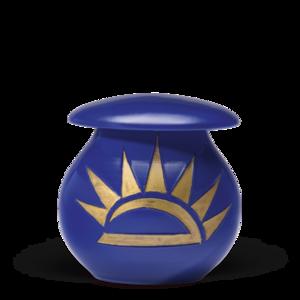 Handgemaakte urn