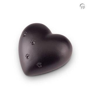 Keramische dierenurn hart groot