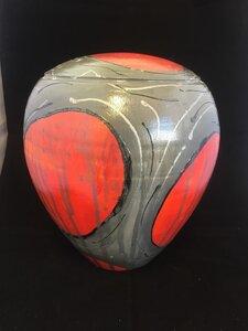Handbeschilderde urn
