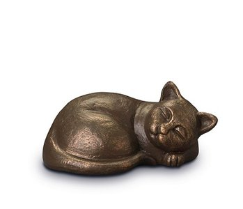 Keramische katten urn
