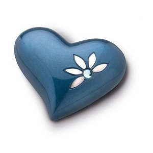 Messing mini harten urn