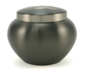 Koperen urn