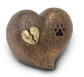 Keramieken dieren urn