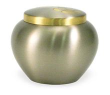 Koperen-urn